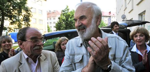 Jaroslav Uhlíř a Zdeněk Svěrák (zleva).