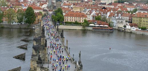 Pražský maraton 5. května 2019.