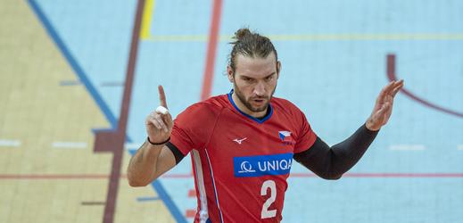 Volejbalista Jan Hadrava.