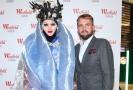 Libor Bouček s extravagantním módním návrhářem Danielem Lismorem.