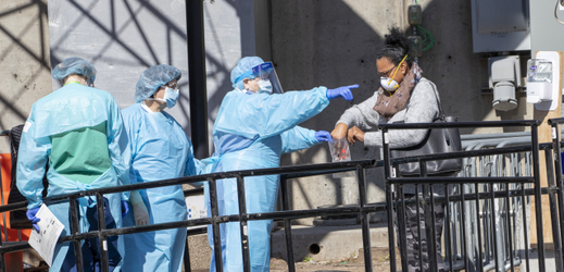 Koronavirus v New Yorku.