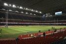 Ragbyový stadion v Cardiffu se změní na polní nemocnici