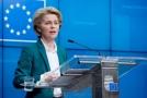 Předsedkyně Evropské komise Ursula von der Leyenová.