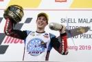 Španělský mistr světa Moto2 Álex Márquez.