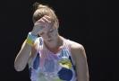 Petra Kvitová na letošním Australian Open.