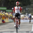 Thomas de Gendt na Tour de France.