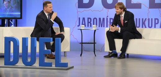 Duel Jaromíra Soukupa s ministrem zdravotnictví.