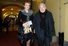 Barbora Munzarová se svým zesnulým otcem.