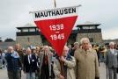 Výročí osvobození koncentračního tábora Mauthausen.