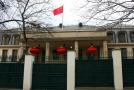 Čínské velvyslanectví v Praze.