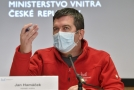 Šéf Ústředního krizového štábu Jan Hamáček.