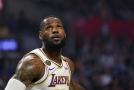 Hvězdný basketbalista LeBron James.