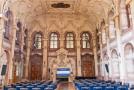 Interiér Valdštejnského paláce, sídla Senátu.