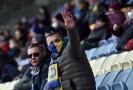 Fotbalisté Brestu stále hrají, fandí jim fotografie fanoušků.