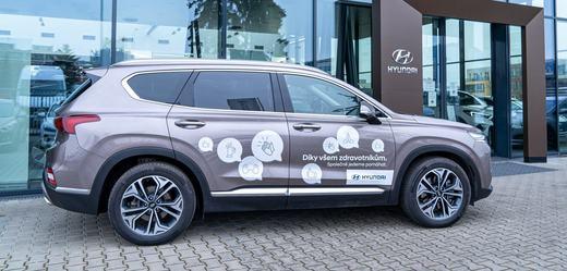 Hyundai v České republice i nadále pomáhá v boji proti nemoci COVID-19.