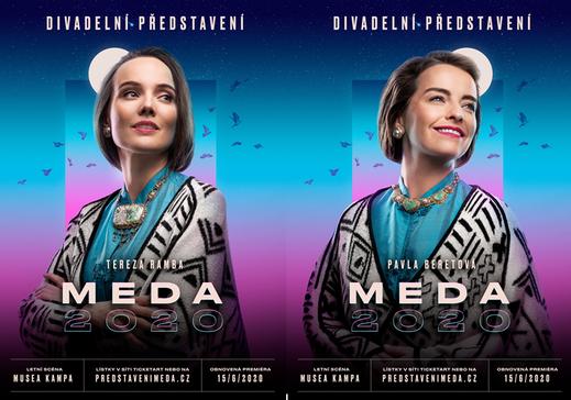 V letošním roce představí v hlavních rolích Tereza Ramba a Pavla Beretová, které se budou v roli Medy Mládkové alternovat.