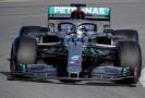 Lewis Hamilton během závodu formule 1.