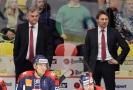 Zleva trenéři Vladimír Vůjtek a Vladimír Országh.