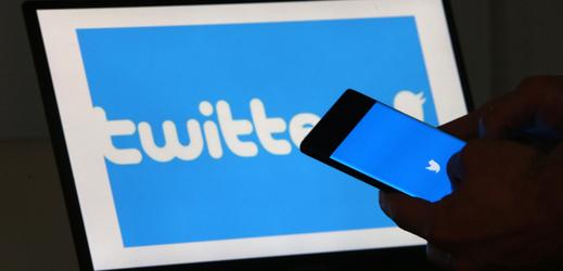 Logo sociální sítě Twitter.