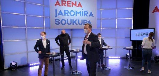 Aréna Jaromíra Soukupa nejsledovanějším politickým pořadem večera
