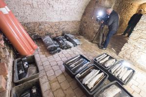 Objev dřevěné studny u Ostrova.
