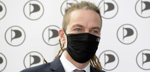 Předseda Pirátů Ivan Bartoš.