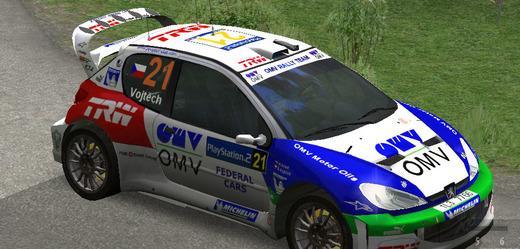 On-line hra Richard Burns Rally.