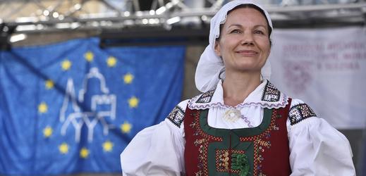 Lenka Macečková, nositelka tradic lidových řemesel roku 2018.