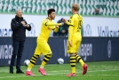 Hráči Dortmundu.