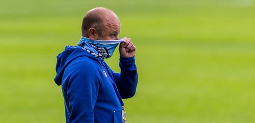 Trenér Liberce Pavel Hoftych.