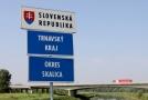 Hraniční přechod se Slovenskem.