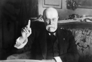 První československý prezident Tomáš Garrigue Masaryk.