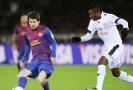 Největší hvězda týmu Barcelona Lionel Messi (vlevo).
