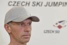 Bývalý trenér českých skokanů na lyžích David Jiroutek.