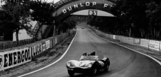 Auto Jaguar, 1956.