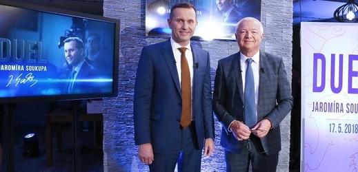 Hostem Duelu Jaromíra Soukupa bude Jaroslav Faltýnek.