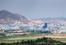 Panorama města Kesong.