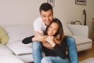 Monika Leová s manželem.