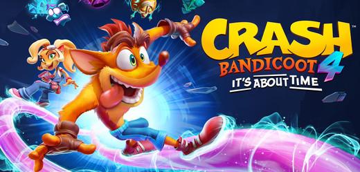 Crash se vrací v novém dobrodružství Crash Bandicoot 4