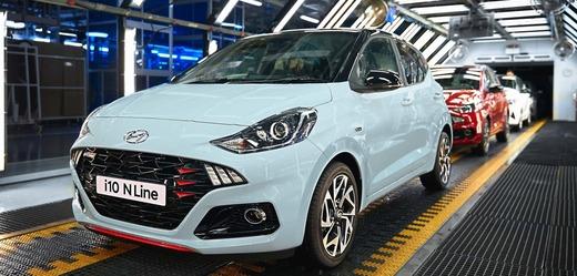 Hyundai spouští v Evropě výrobu zcela nového modelu i10 N Line.