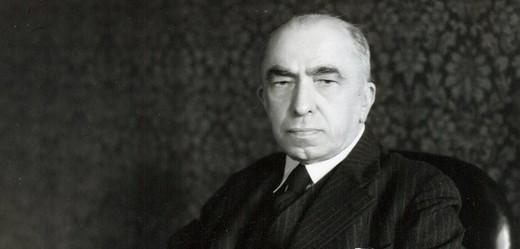 Prezident Emil Hácha.