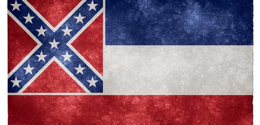 Vlajka Mississippi.