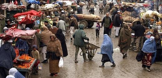 Afghánský trh (ilustrační foto).