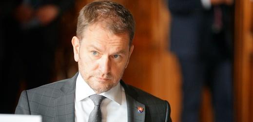 Slovenský premiér Igor Matovič.