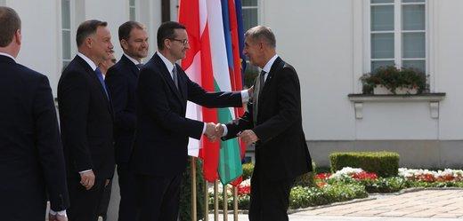 Setkání představitelů V4.