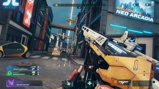 The action shooter Hyper Scape will be connected with a live broadcast