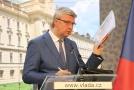 Vicepremiér a ministr průmyslu a obchodu Karel Havlíček (za ANO).