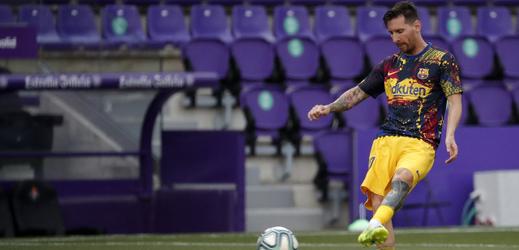 Fotbalista Lionel Messi.