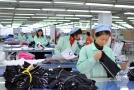 Továrna na oblečení v Číně (ilustrační foto).