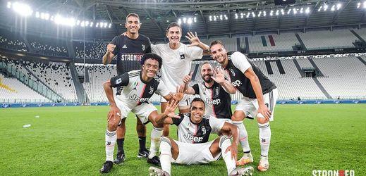 Fotbalisté Juventusu.